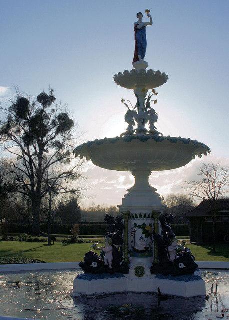 Vivary Park Fountain