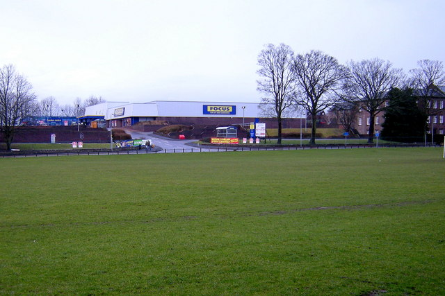 View of Focus premises at Myre Road, Forfar