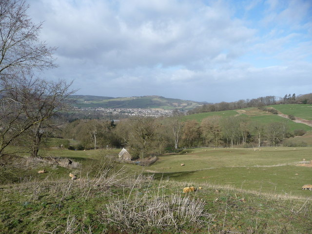 Winchcombe from above St. Kenelm's Well.
