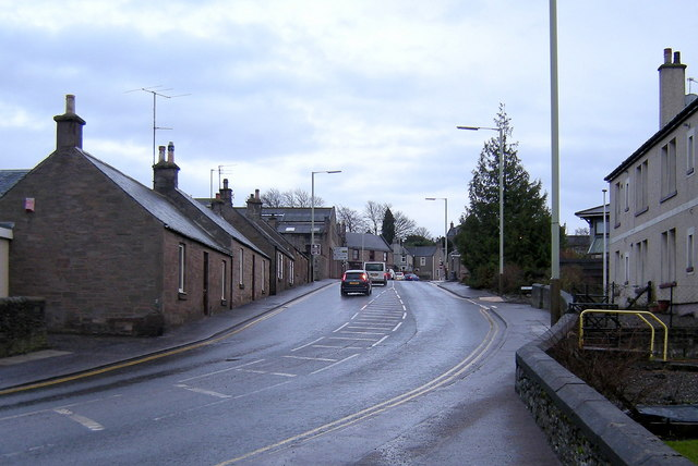 Craig O' Loch Road, Forfar looking south