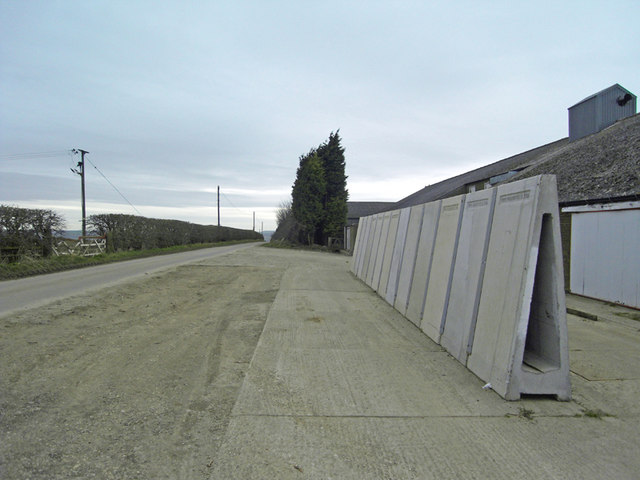 Concrete Wall Sections - Horkstow Road