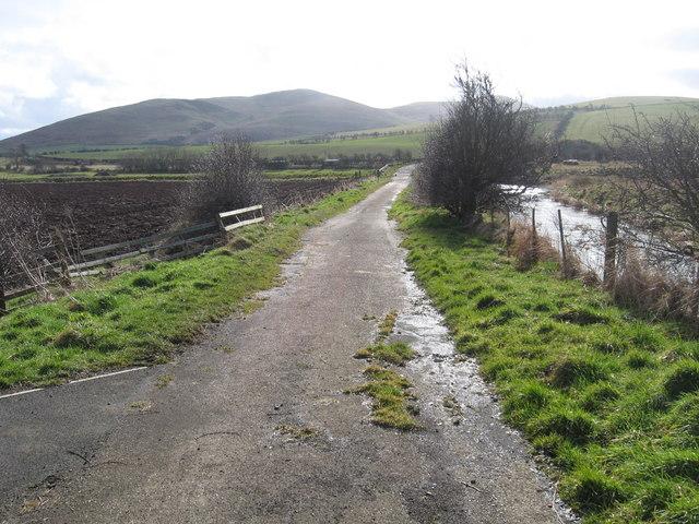 Track to Langham Bridge