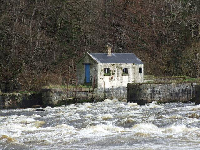 The Salmon Leap (The Cutts), Castleroe, Coleraine.