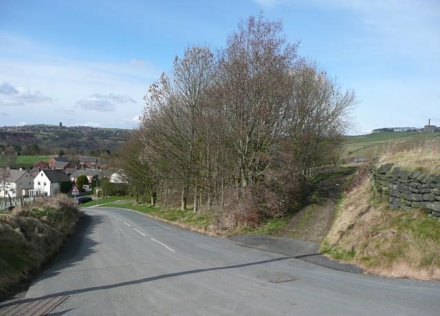 Wadsworth Lane and Rowland Lane, Hebden Bridge