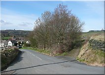 SE0027 : Wadsworth Lane and Rowland Lane, Hebden Bridge by Humphrey Bolton