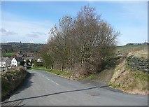 SE0027 : Wadsworth Lane and Rowland Lane, Hebden Bridge by Humphrey Bolton