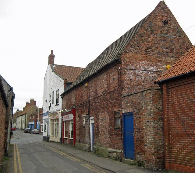 Old Cottages on Chapel Lane