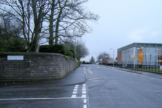 View of Taylor Street, Forfar, looking west