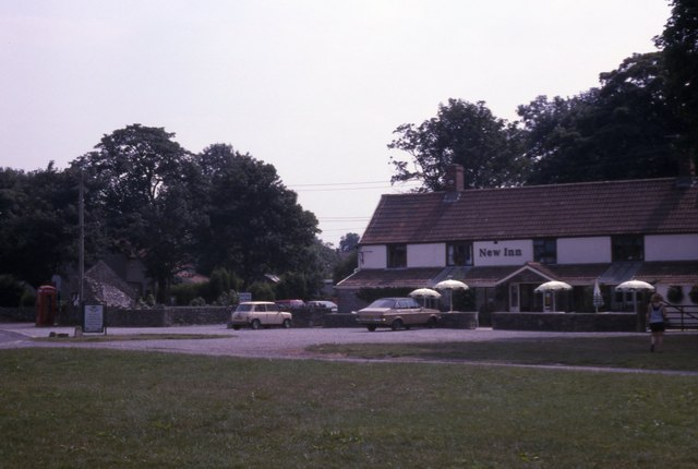 Priddy village pub - New Inn