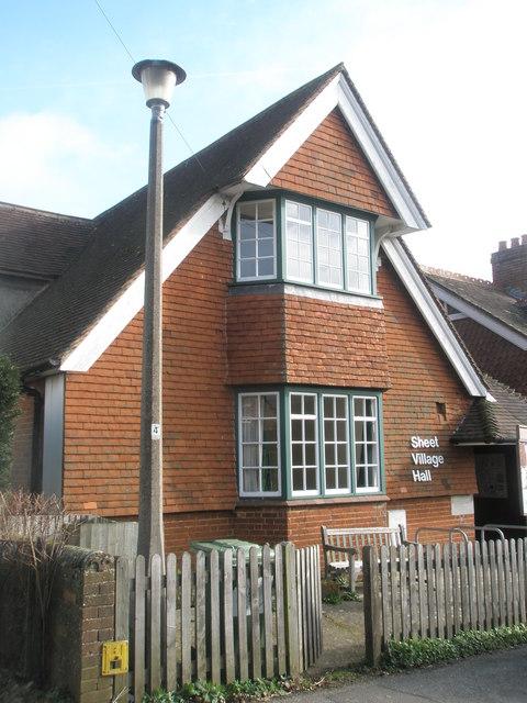 Sheet Village Hall