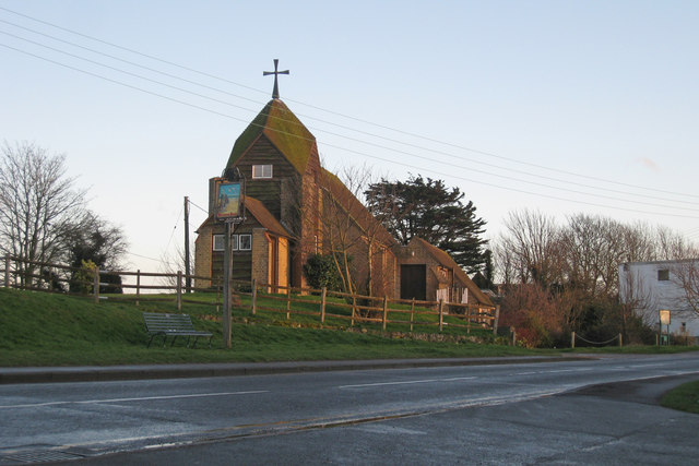 St Richards Church, Pett Level Road, Winchelsea Beach