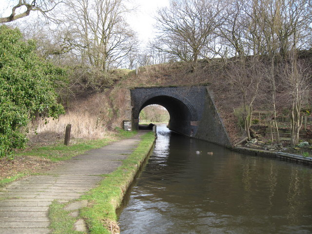 Old Railway Bridge over the Canal