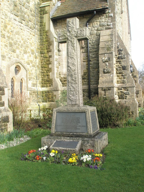 Great War Memorial outside St Mary Magdalen, Sheet