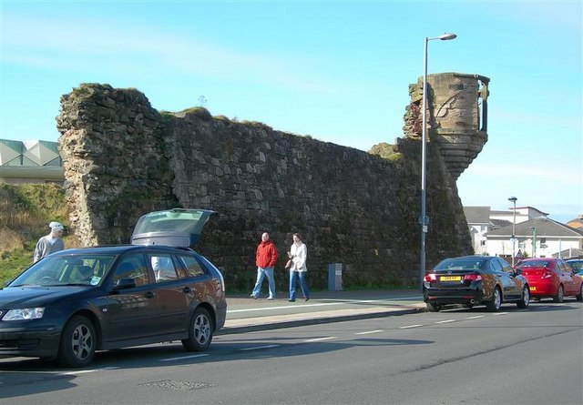 Miller's Folly At Ayr Harbour