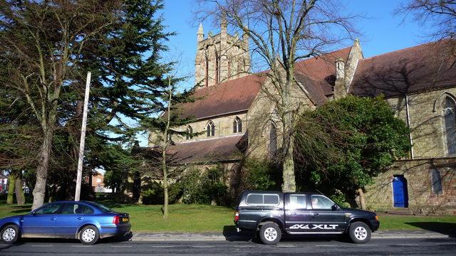 All Saints parish church.