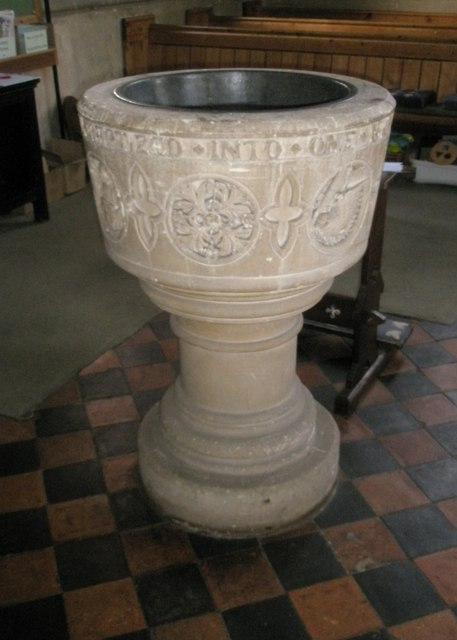 The font at St Mary Magdalen, Sheet