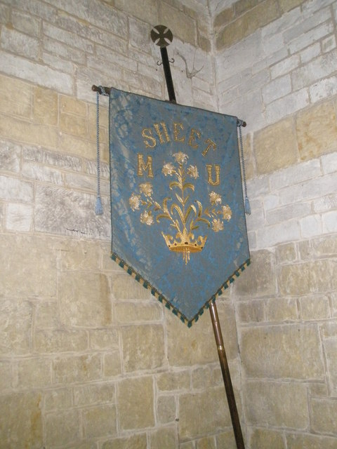 Banner within St Mary Magdalen, Sheet