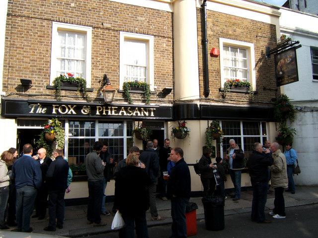 Fox and Pheasant PH, Billing Road, Fulham.