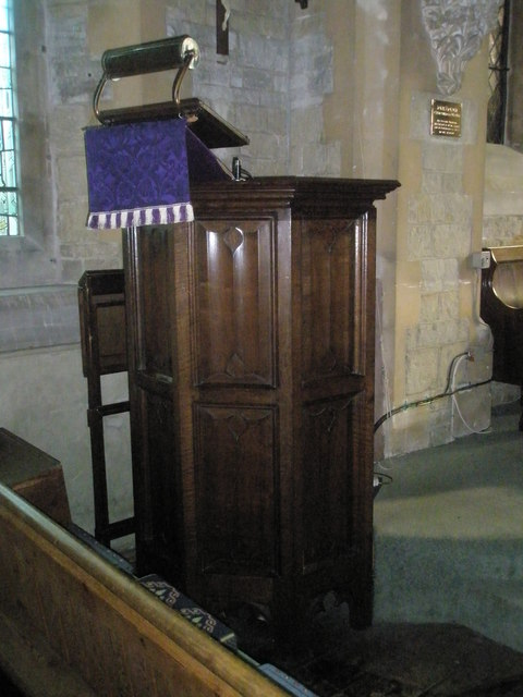 The pulpit at St Mary Magdalen, Sheet