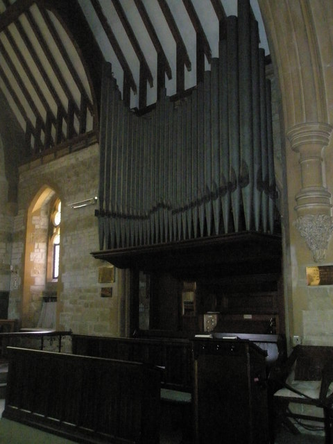 The organ at St Mary Magdalen, Sheet