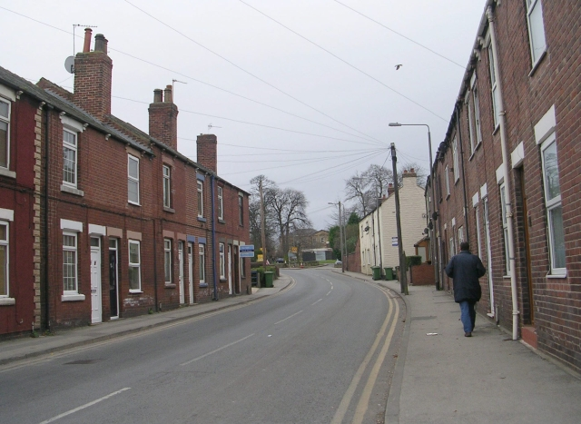 Hall Street - Pontefract Road