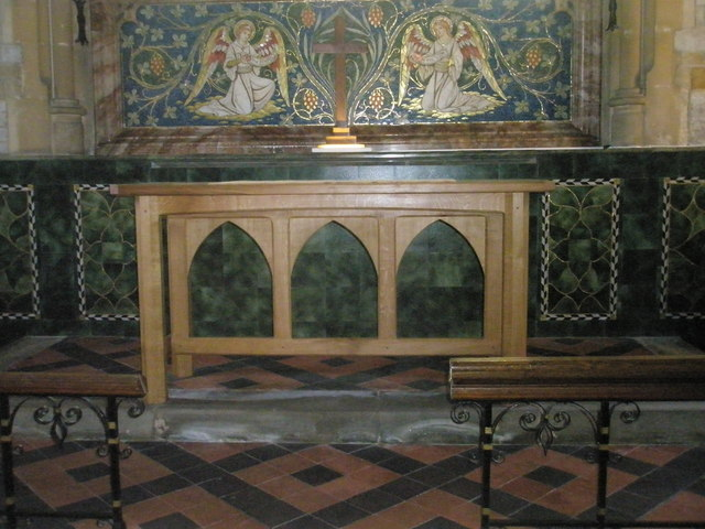 The altar at St Mary Magdalen, Sheet