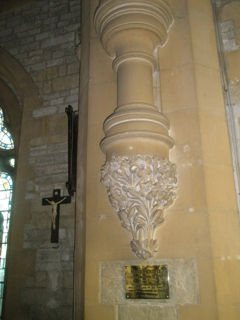 Intricate detail on the south wall of St Mary Magdalen, Sheet
