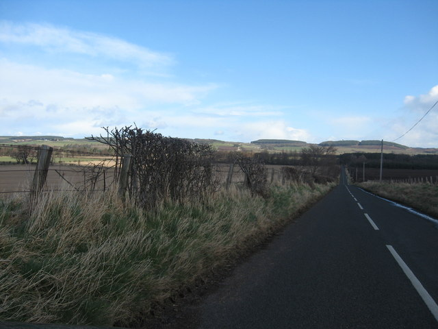 Long straight on the B6352