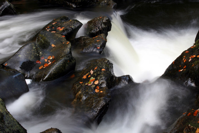 Little Deil's Cauldron, River Lednock
