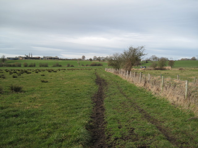View of Bridleway near Willey Moor