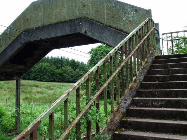 Footbridge at Beatock Place