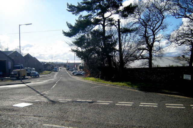 Carseview Road, Forfar, looking southwest