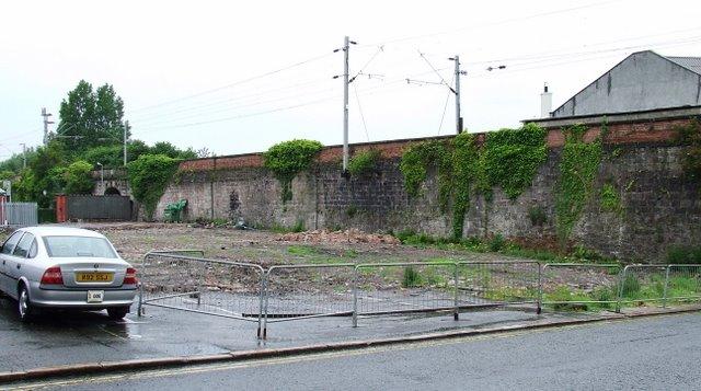 Site of former Army barracks