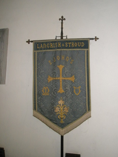 Banner within St John the Evangelist, Langrish