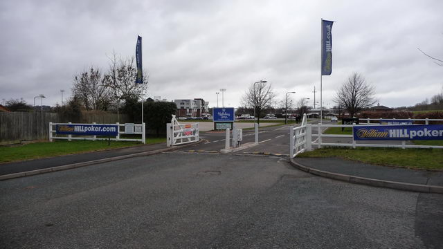 Entrance to Dunstall Park