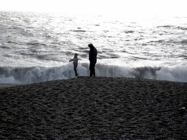 Stormy seas - West Bexington