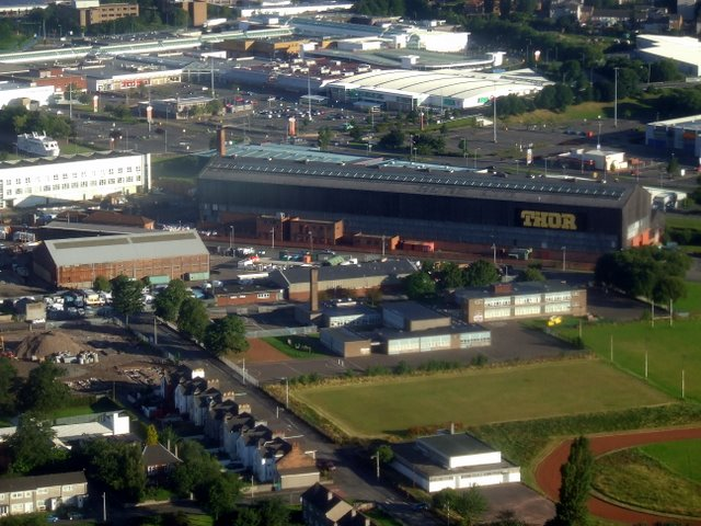 Clydebank from the air