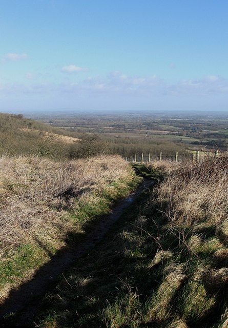 Cross Dyke, Steyning Round Hill