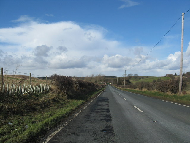 The A697 in Northumberland