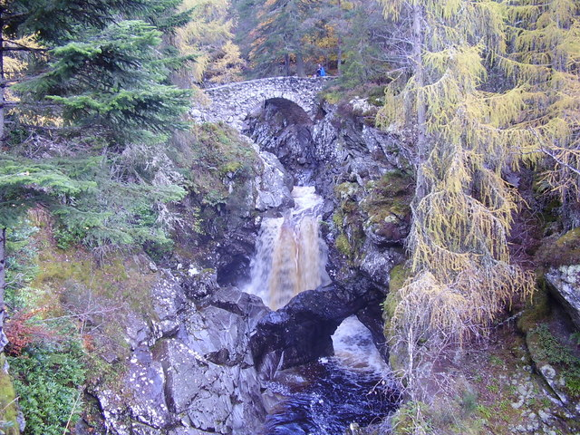 Lower Bridge Falls of Bruar
