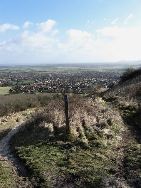 Bridleway Junction, Steyning Round Hill