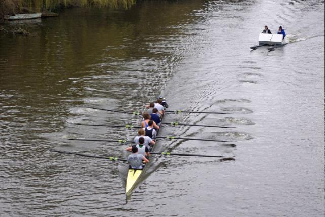 Rowing at Shrewsbury