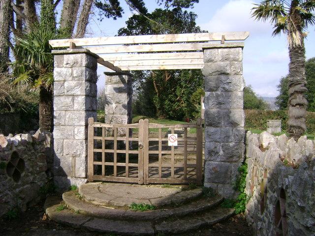 Homeyards Botanic Garden, east entrance