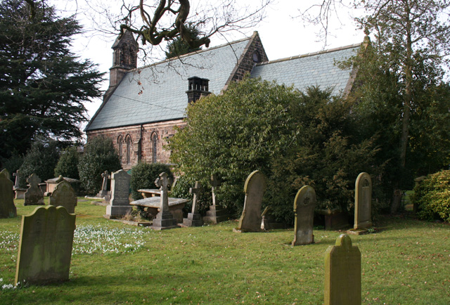St Peter's Church, near Bradfield Green