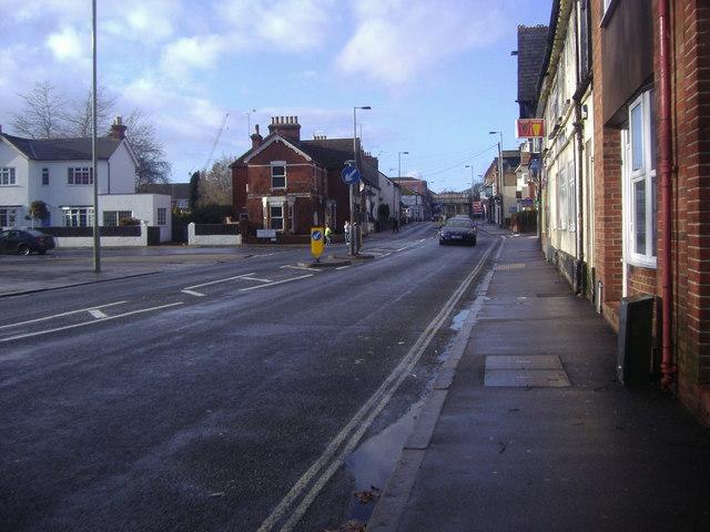 High Street Aldershot