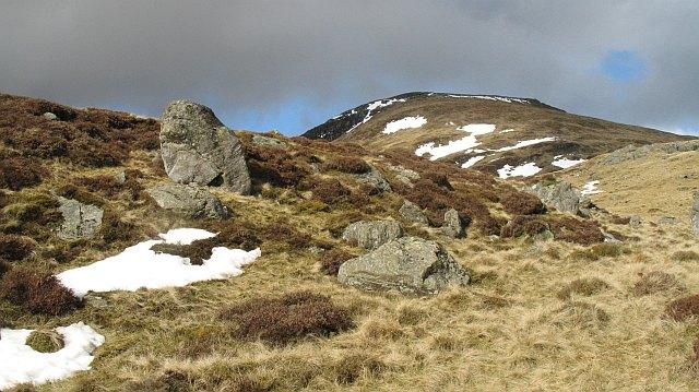 Moraine, White Glen