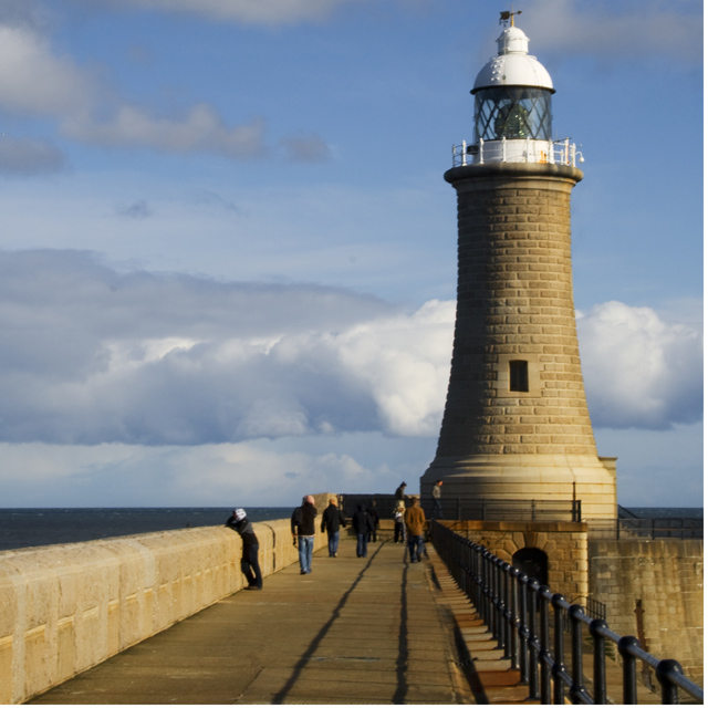 Lighthouse Tynemouth North Pier