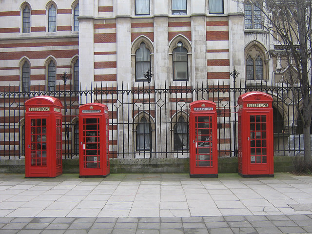 Phone box symmetry