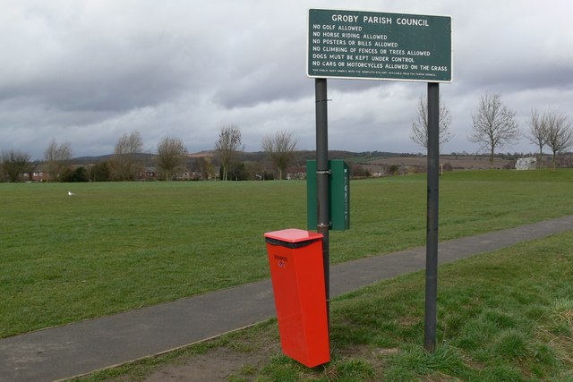 Recreation ground in Groby