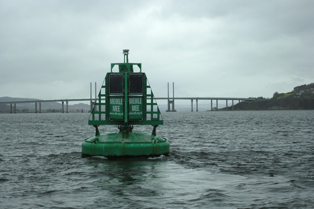 Meikle Mee Navigation Buoy, Inverness Firth
